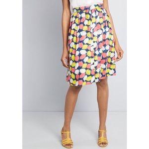 Fever London Lemon Print Skirt